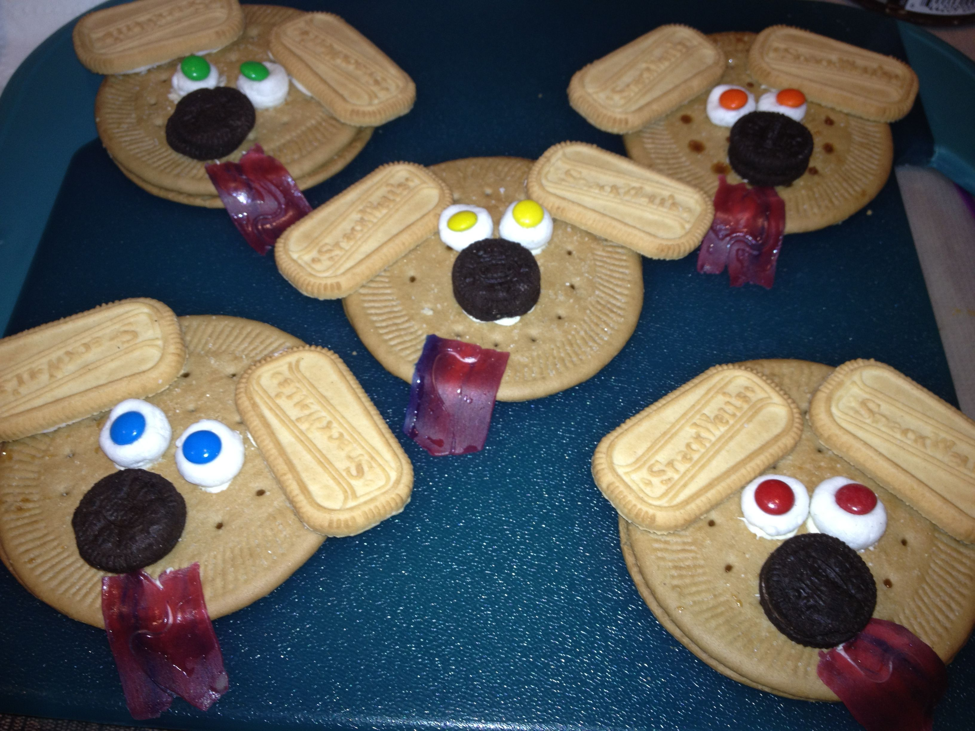 Classroom Snack Ideas Kindergarten : Doggie snack for my son s preschool class super cute