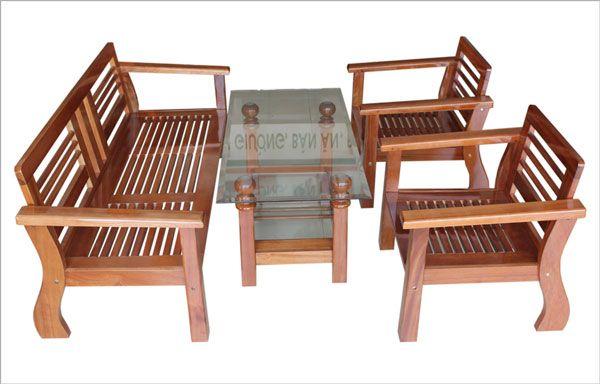 Kết quả hình ảnh cho Bàn ghế gỗ hoàng anh gia lai