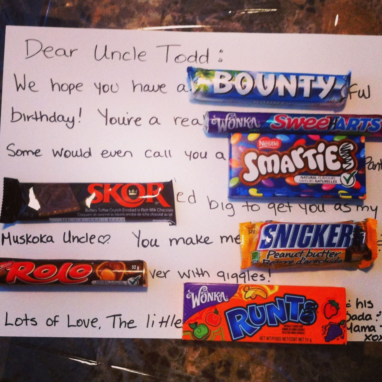 candy gram poster ideas | just b.CAUSE