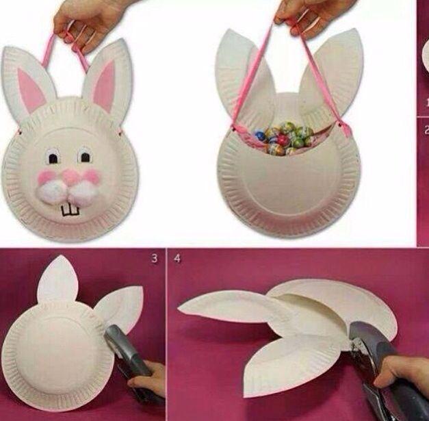 Preschool Art Easter Basket : Diy easter basket kindergarten