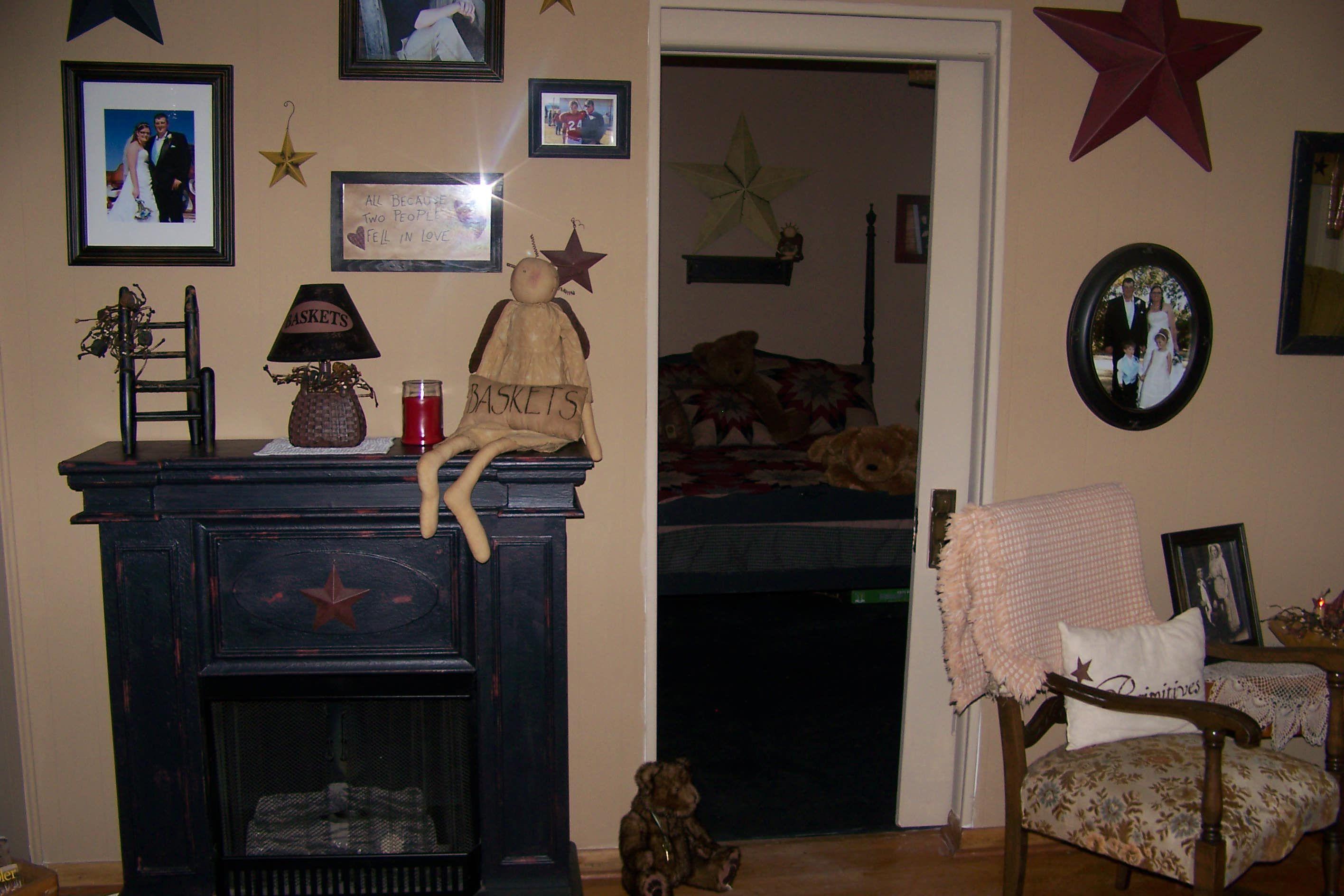 My Primitive Home Primitive Decor Pinterest