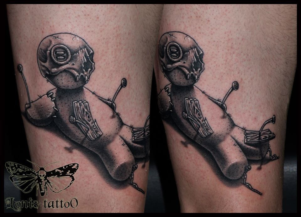 Voodoo doll tattoo | Ink I like | Pinterest