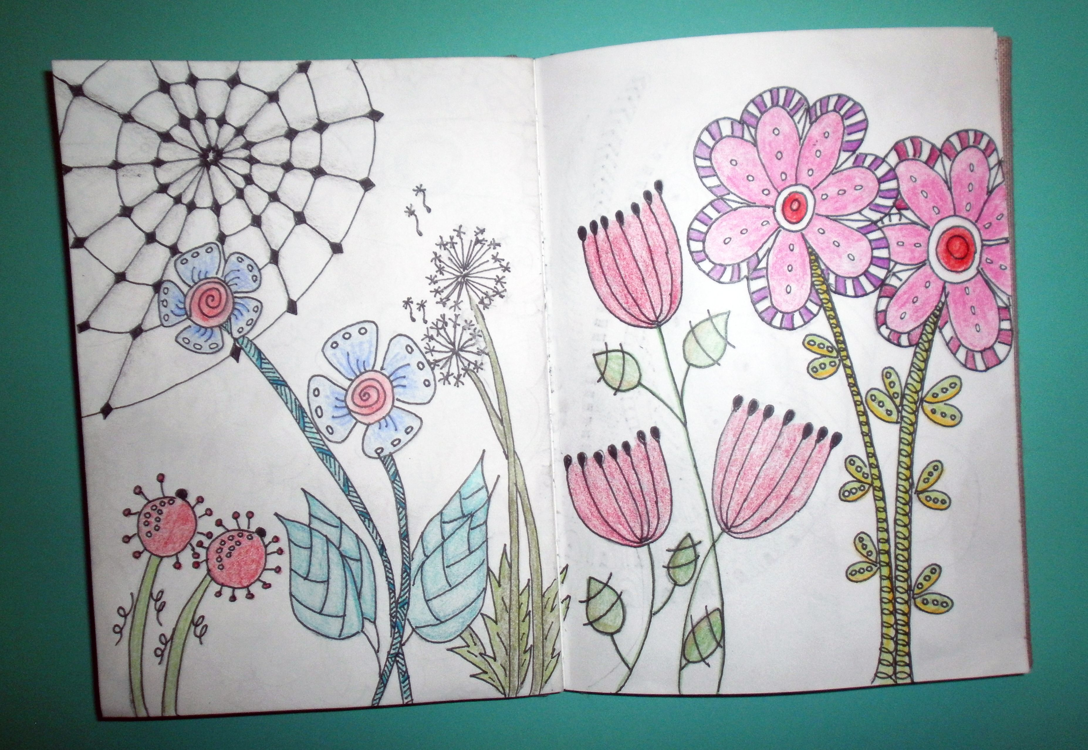 Flowers Zentangle My Zentangles