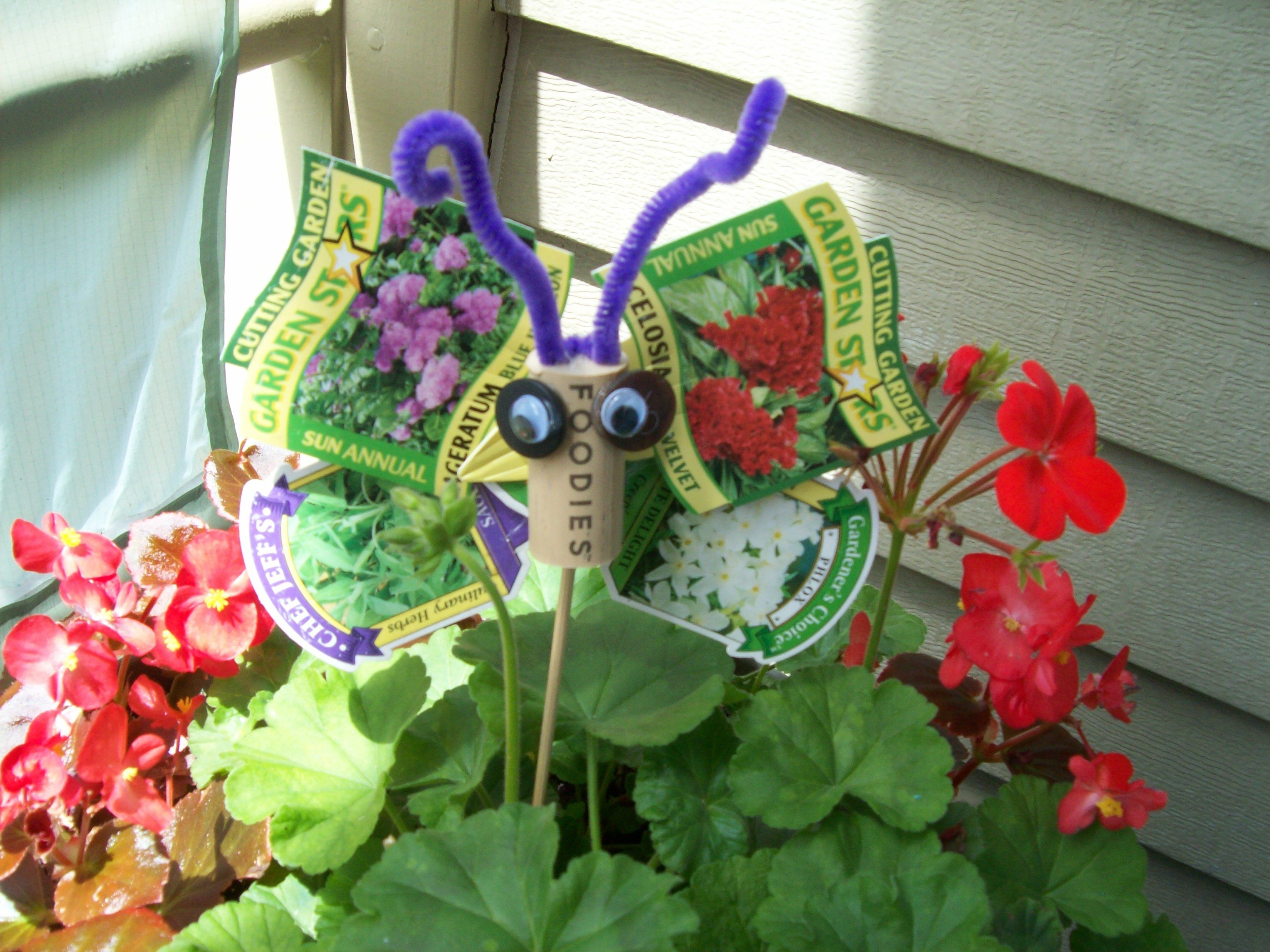 Pin it like image for Recycled garden art ideas