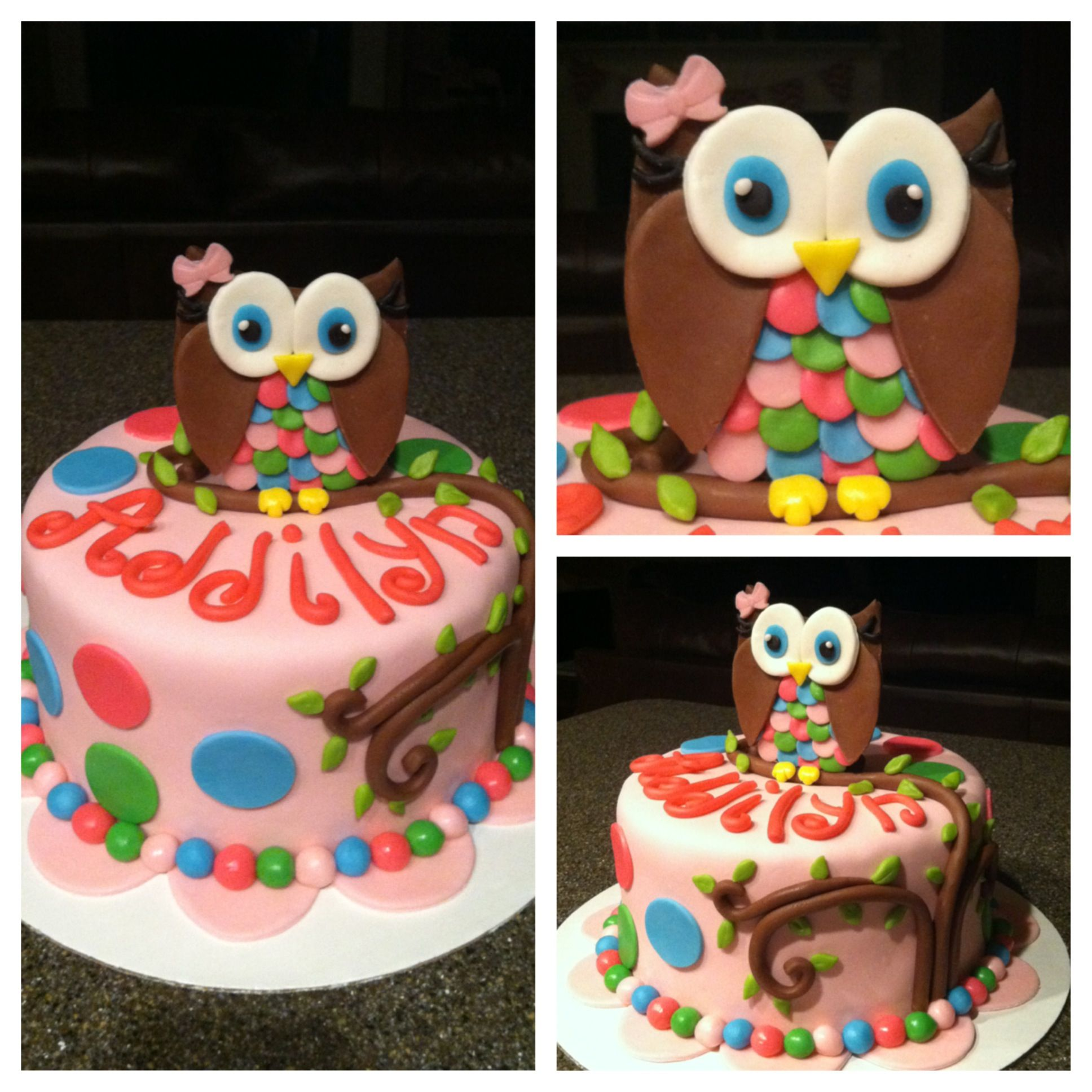 Owl Cake Decor : Owl cake Cake decorating ideas Pinterest