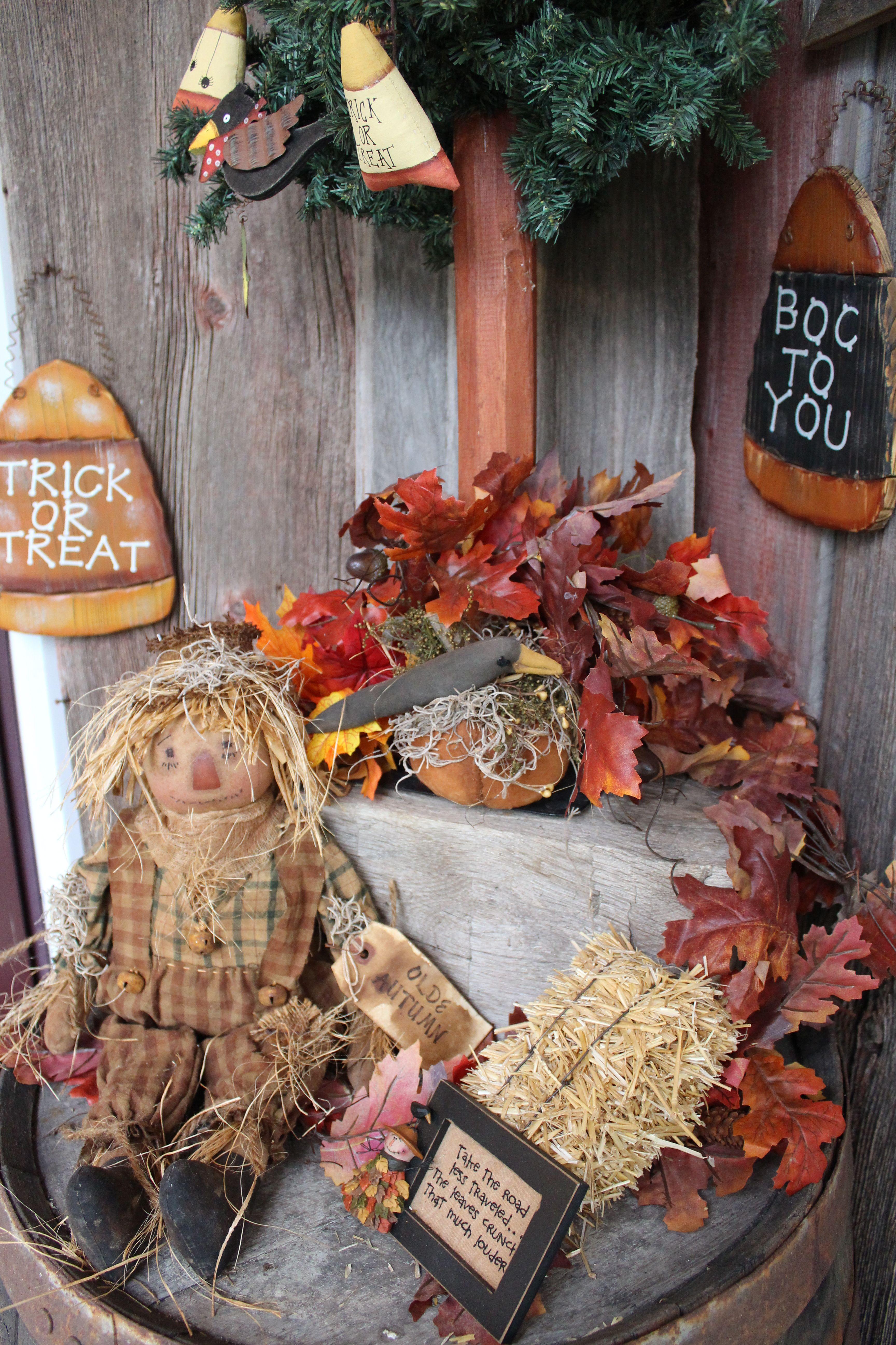 Primitive Halloween Craft Ideas Just B Cause