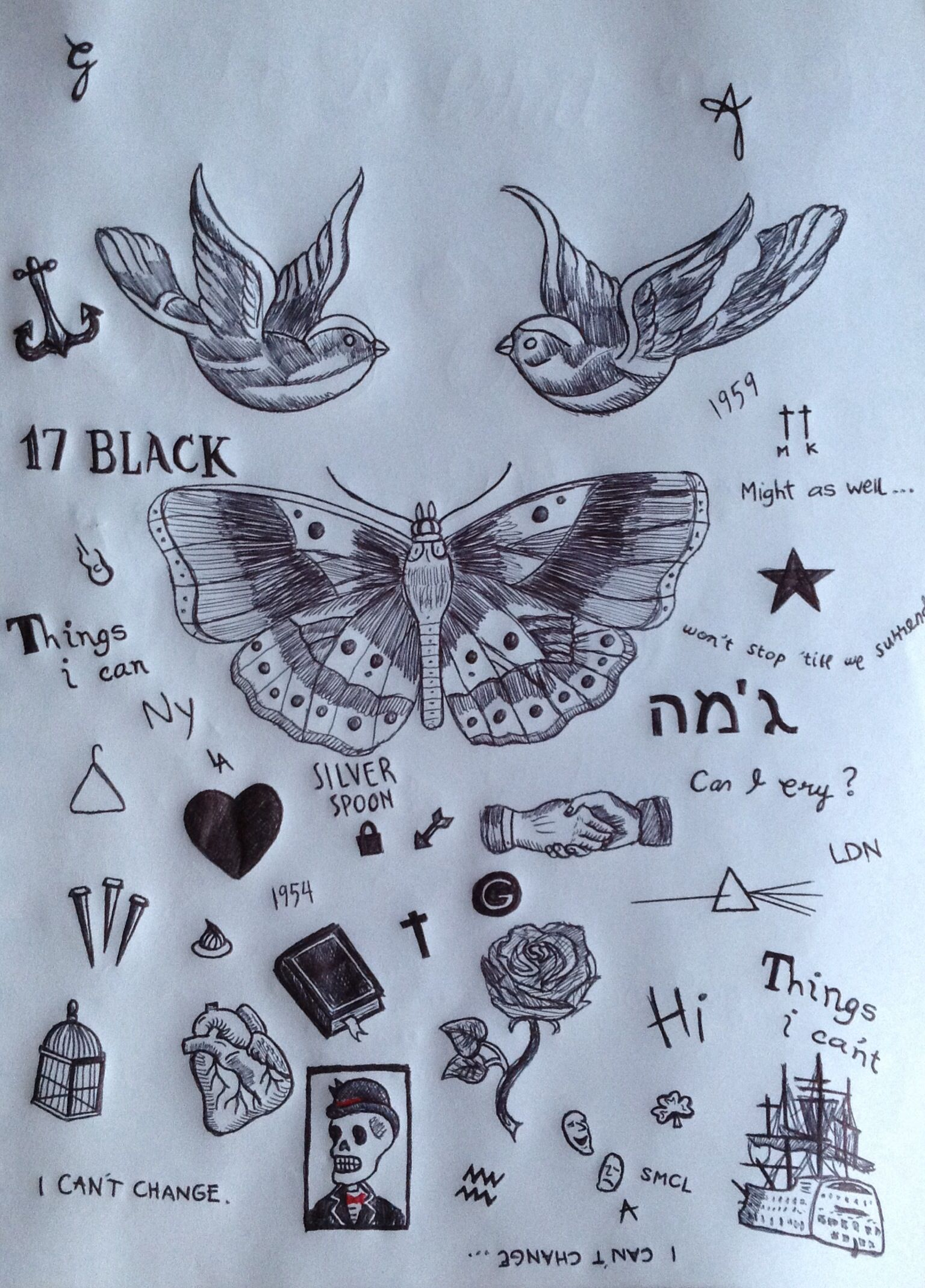 Harry Styles TattoosHarry Styles Bird Tattoo Drawing