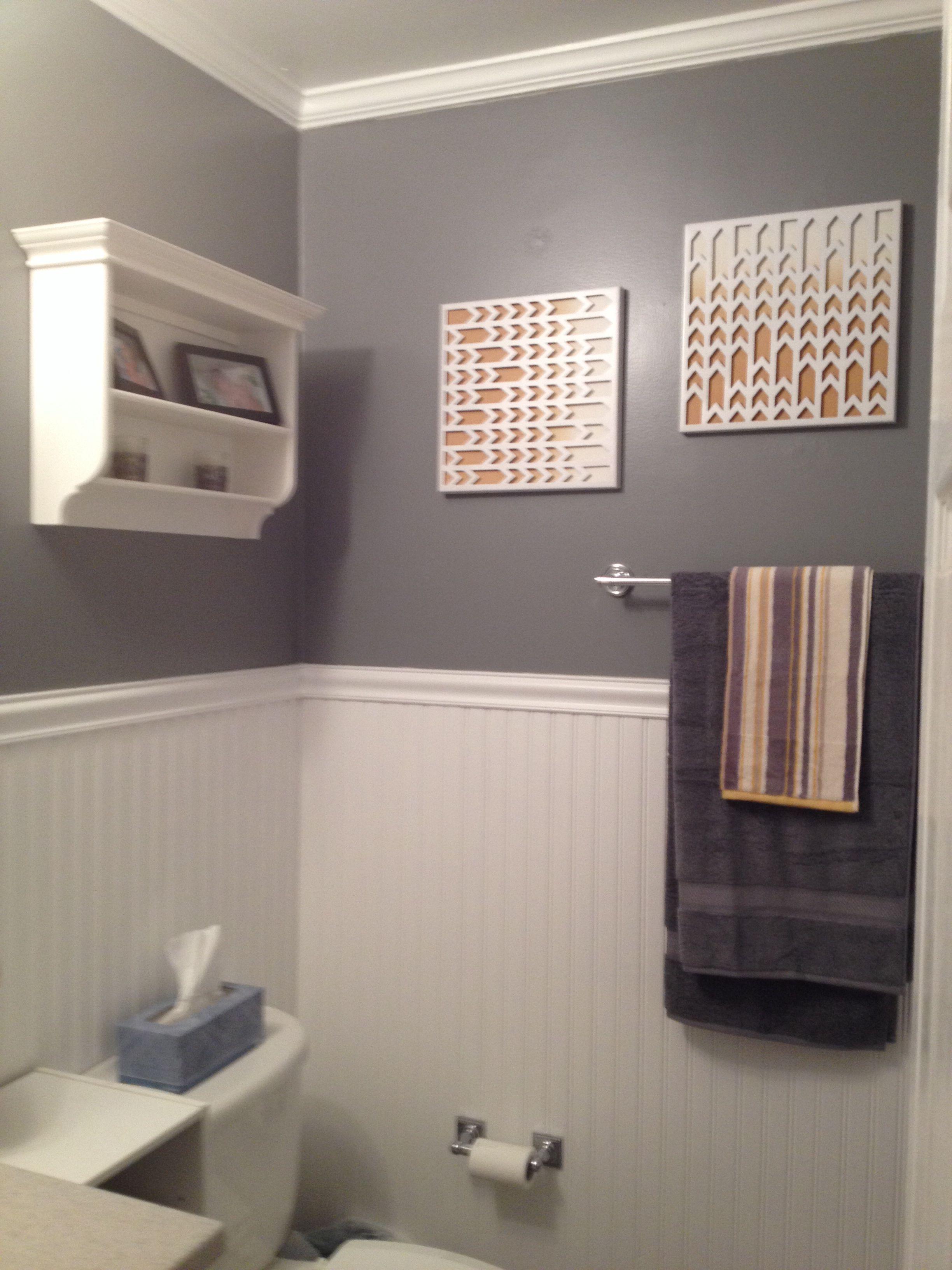 grey and yellow bathroom decor diy decor pinterest