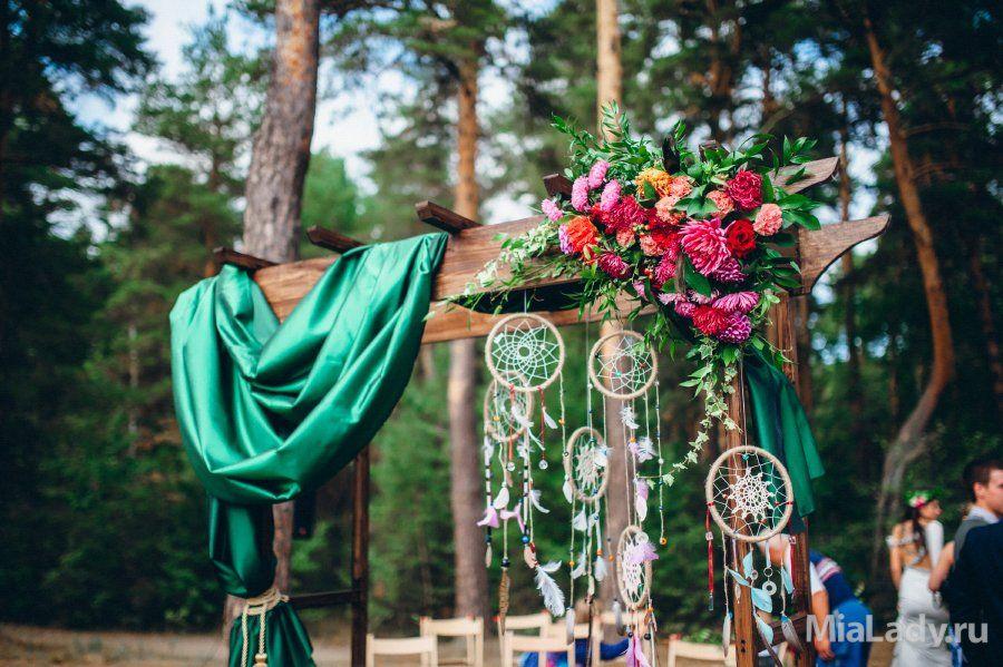 Бохо стиль в декоре свадеб