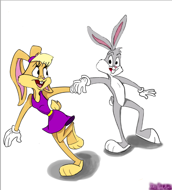 Bugs bunny and lola bunny tumblr