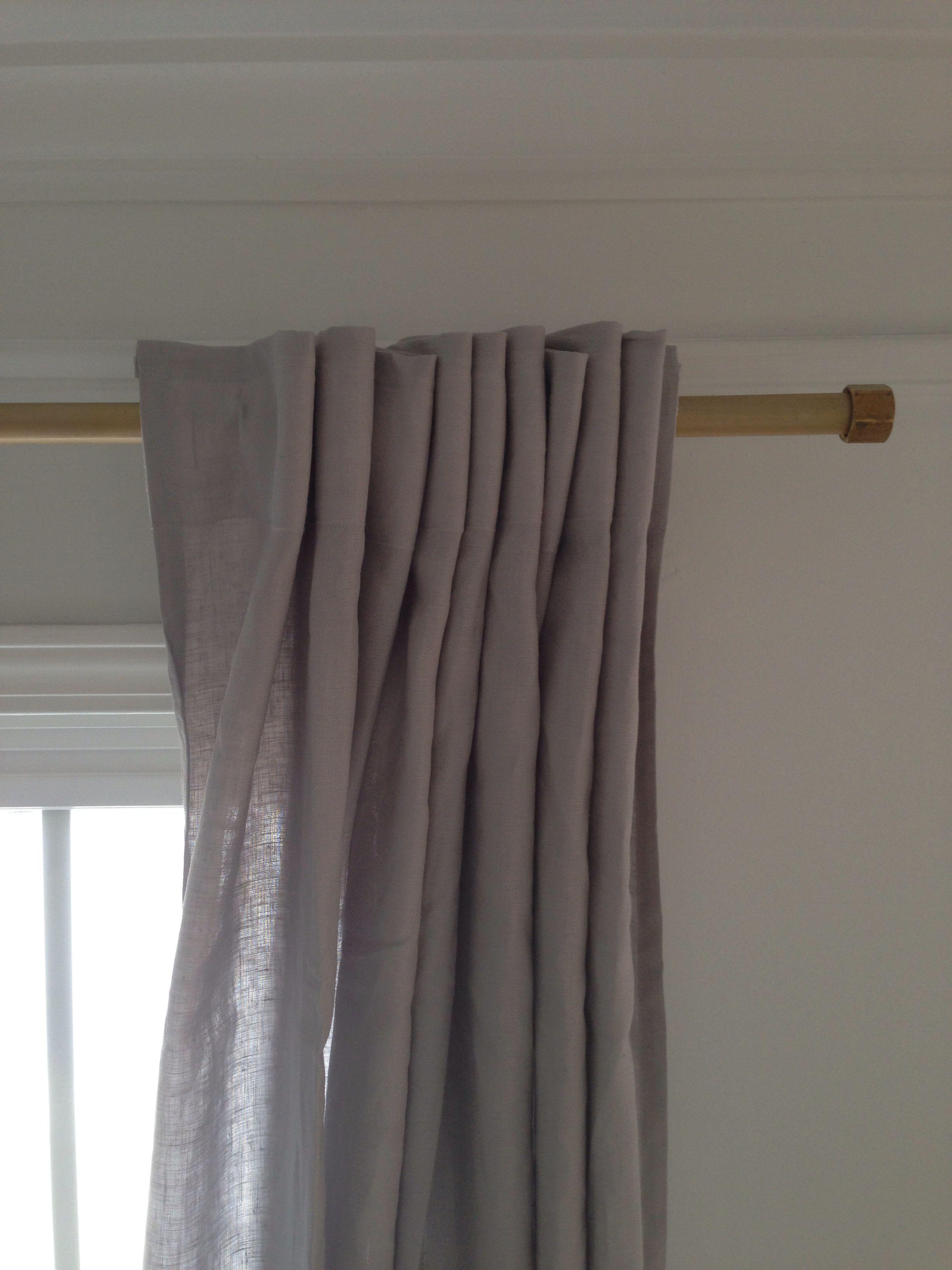 Diy curtain rods crafty ideas pinterest