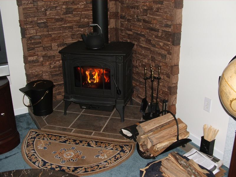 Wood stove living room ideas pinterest - Wood stove ideas living rooms ...