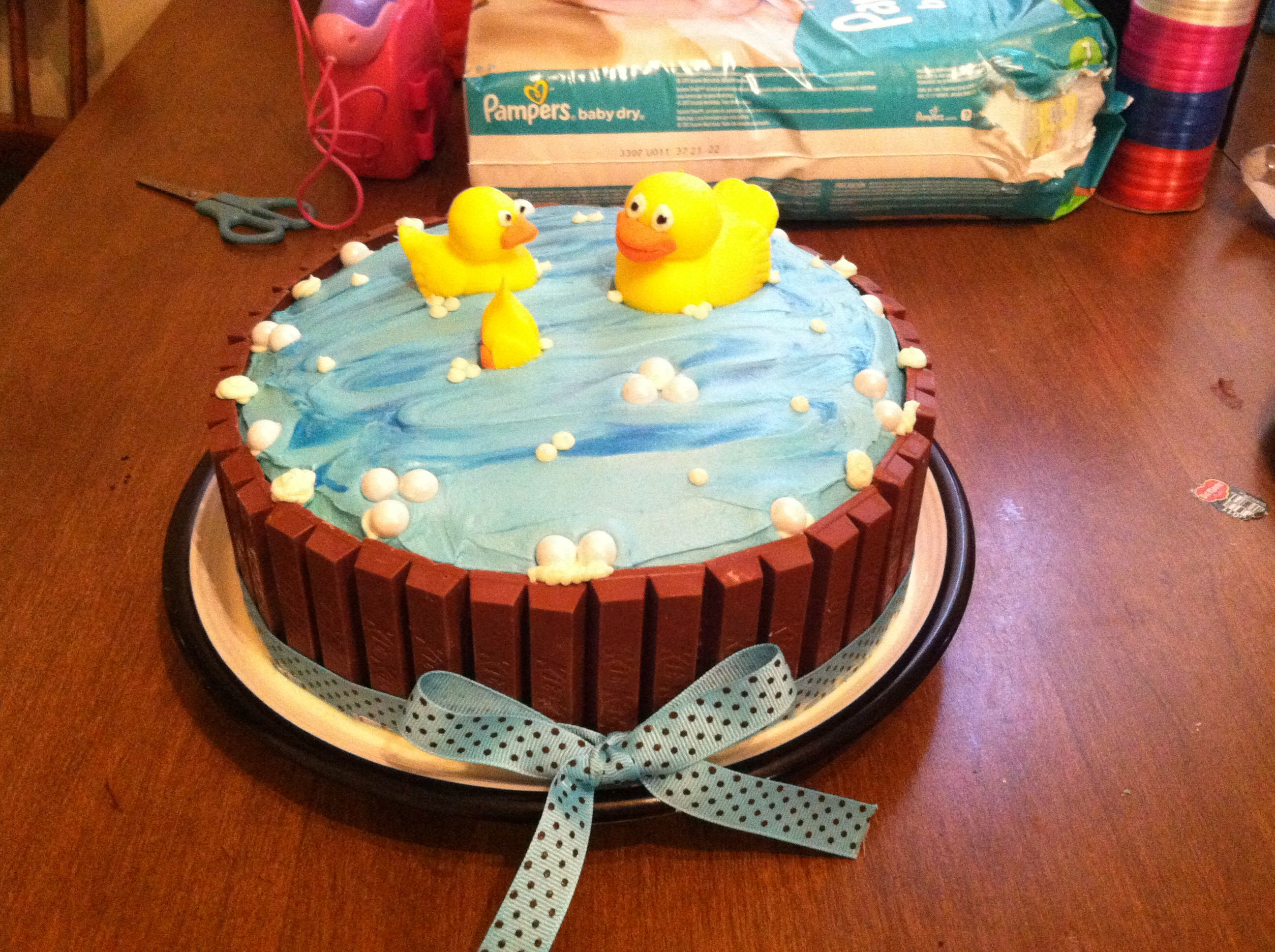 easy baby shower cake sweets pinterest