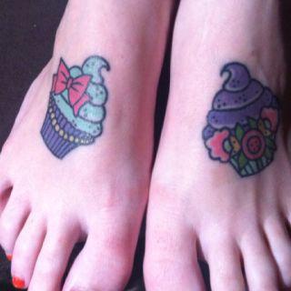 My Cupcake Tattoos  Inkspiration Pinterest