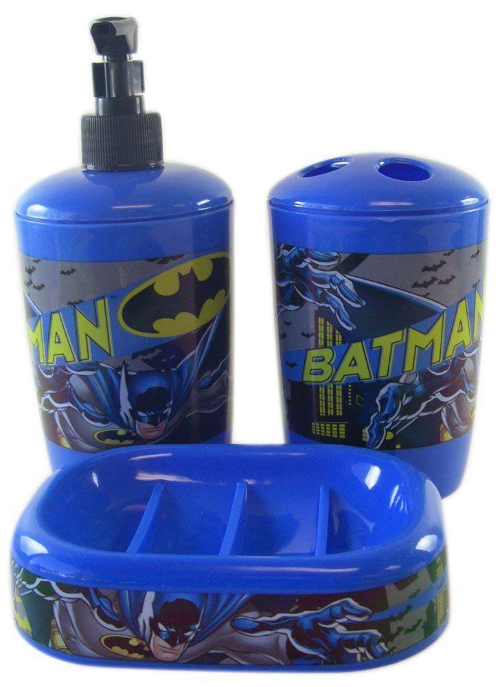 Batman Bathroom Set Bathroom Decor Pinterest