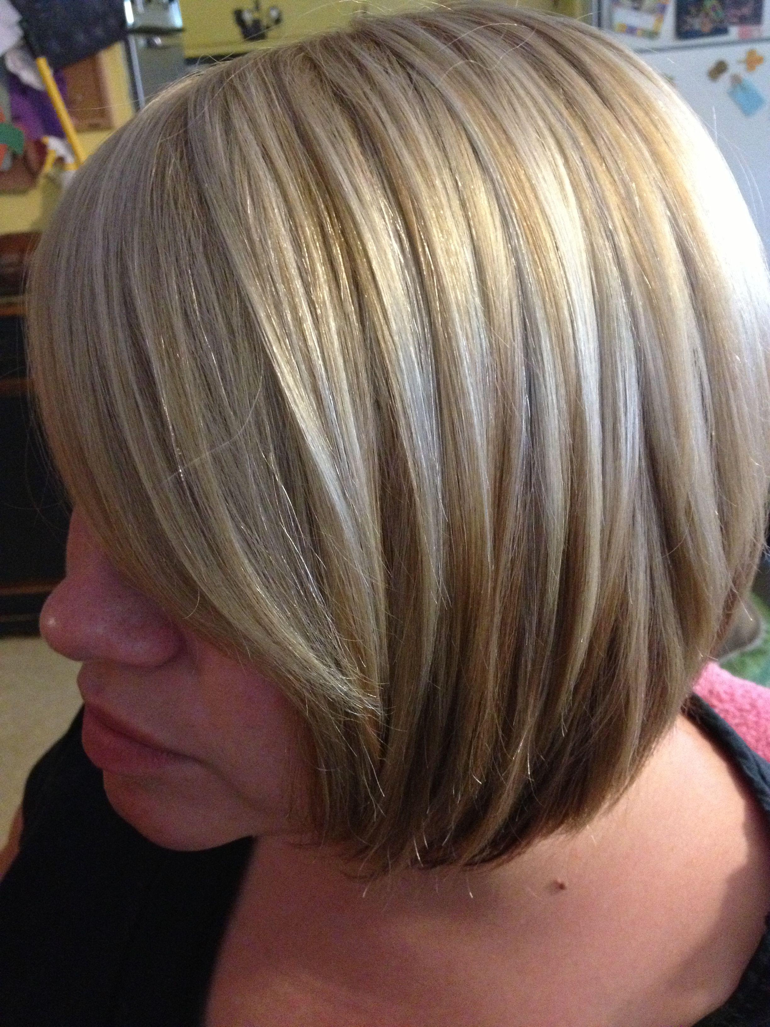Blonde on blonde foiled hair | Hair creations | Pinterest