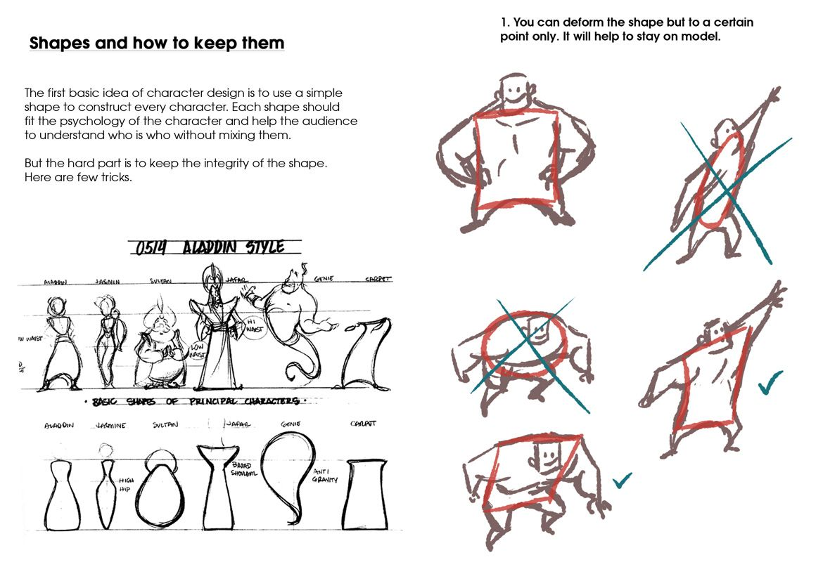 Shapes In Character Design : Shapes in character design how to draw pinterest