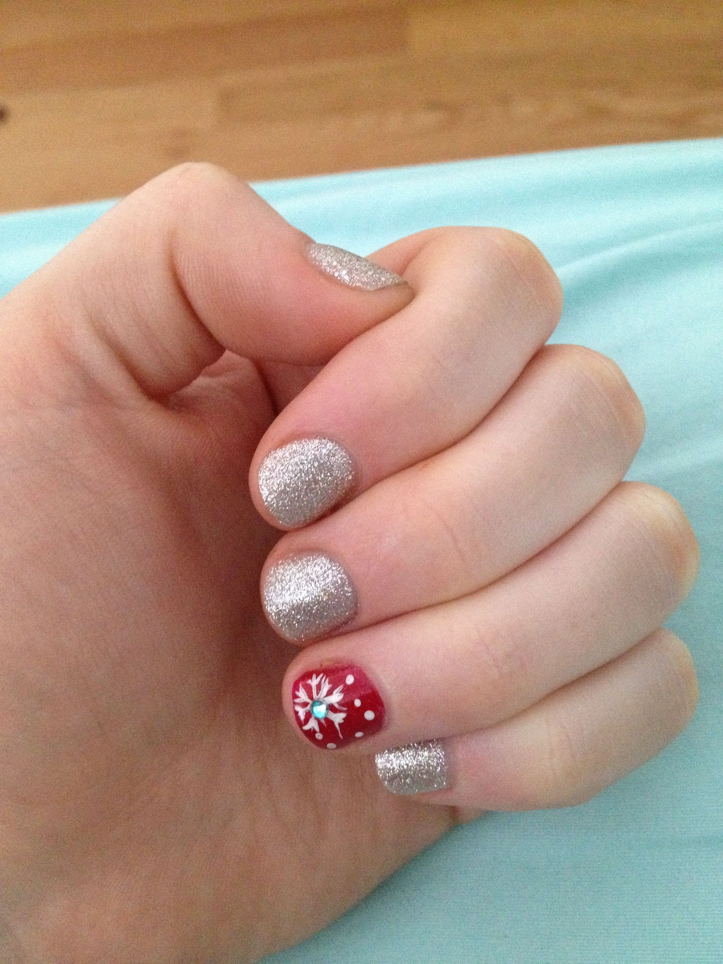 Holiday Gel Nails Pictures to Pin on Pinterest