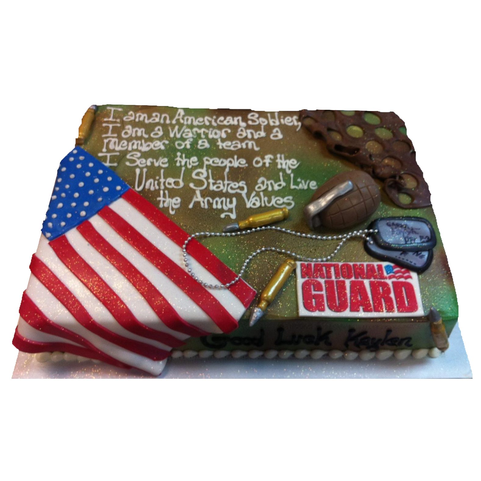 Army Retirement Cake Images : Military Retirement Cake Ideas and Designs