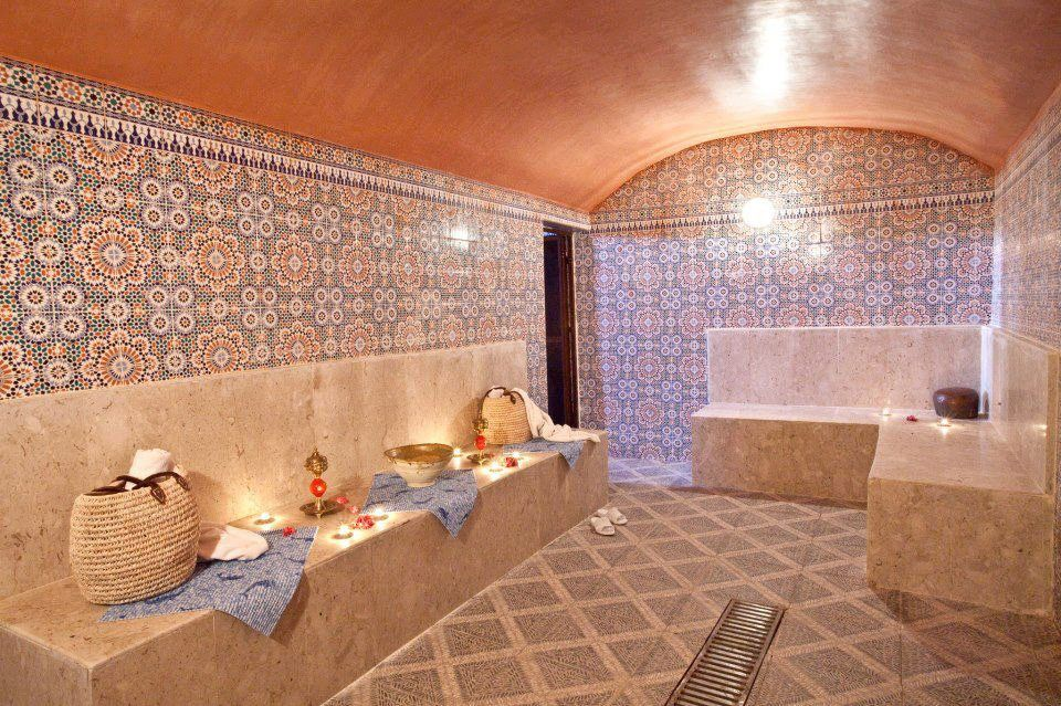 Moroccan bath beyond beds bath and closets pinterest - Moroccon bathroom ...