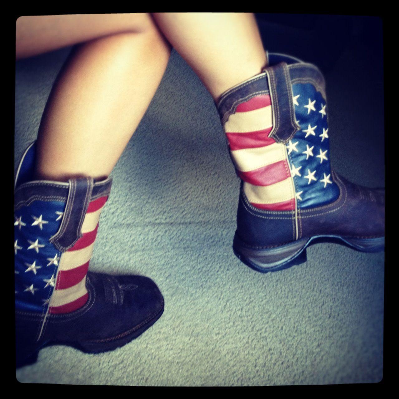 Luxury Women39s SoHo Patriotic Engineer Flag Boot Durango City