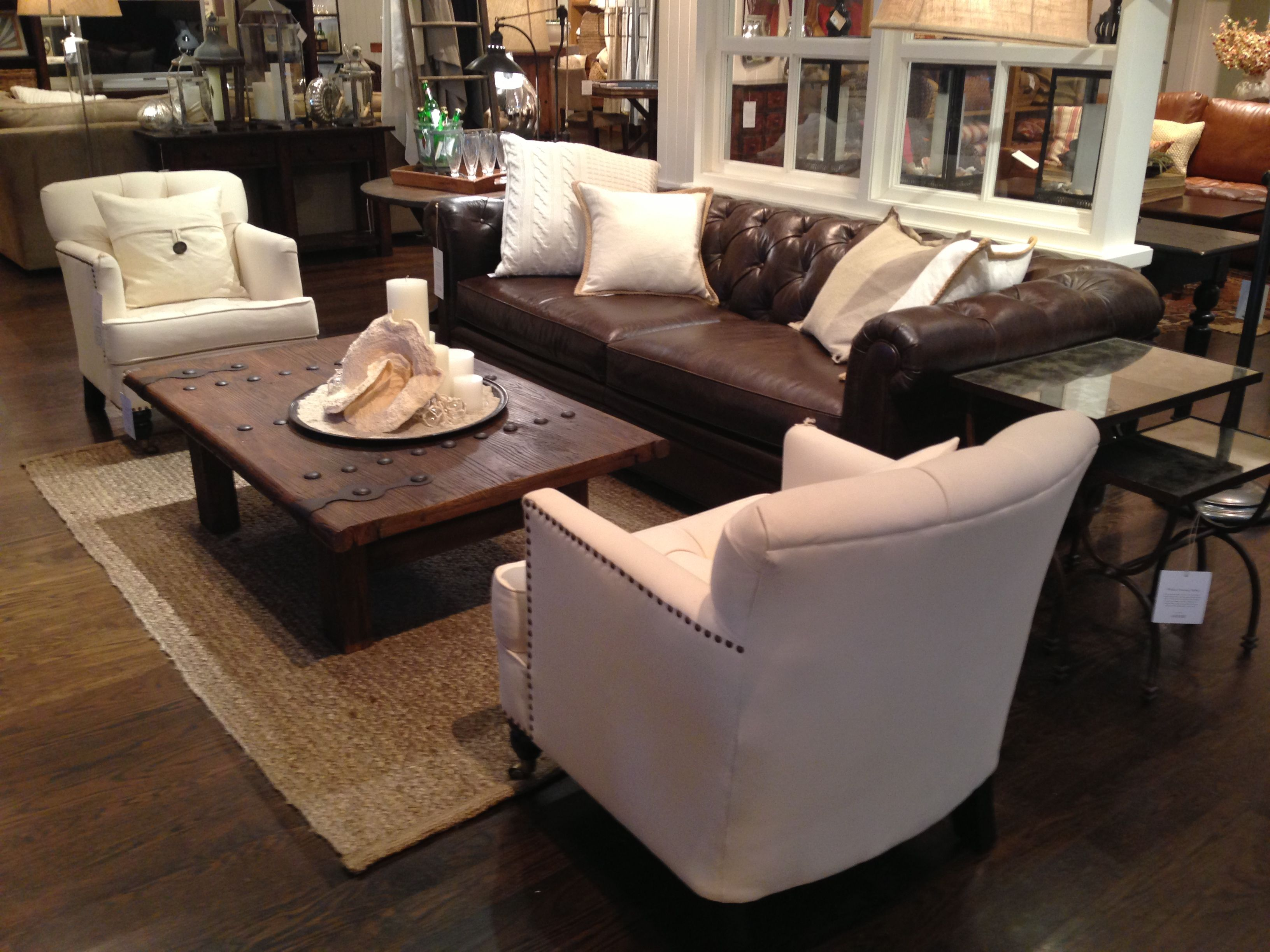 Leather Couch Plus Two Accent Chairs Room Inspirations Pinterest