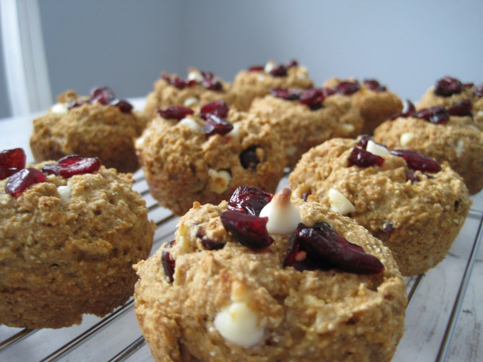 Cranberry White Chocolate muffins | Desserts | Pinterest