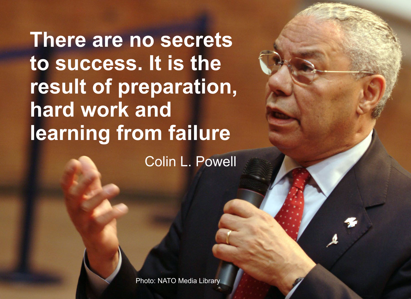 colin luther powell positive leader Here are 101 inspirational quotes from highly  —colin powell the biggest risk is  we should remember that just as a positive outlook on life can.