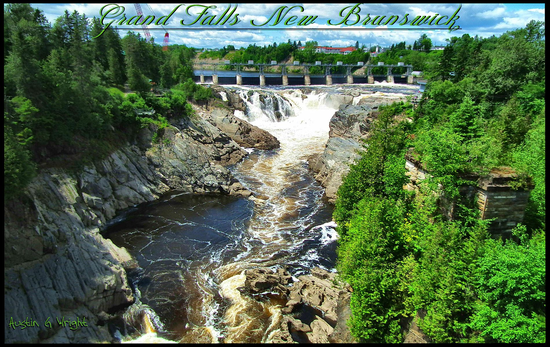 Grand Falls (NB) Canada  city images : Grand Falls , NB | SPACE AND EARTH / SPACIO Y TIERRA | Pinterest