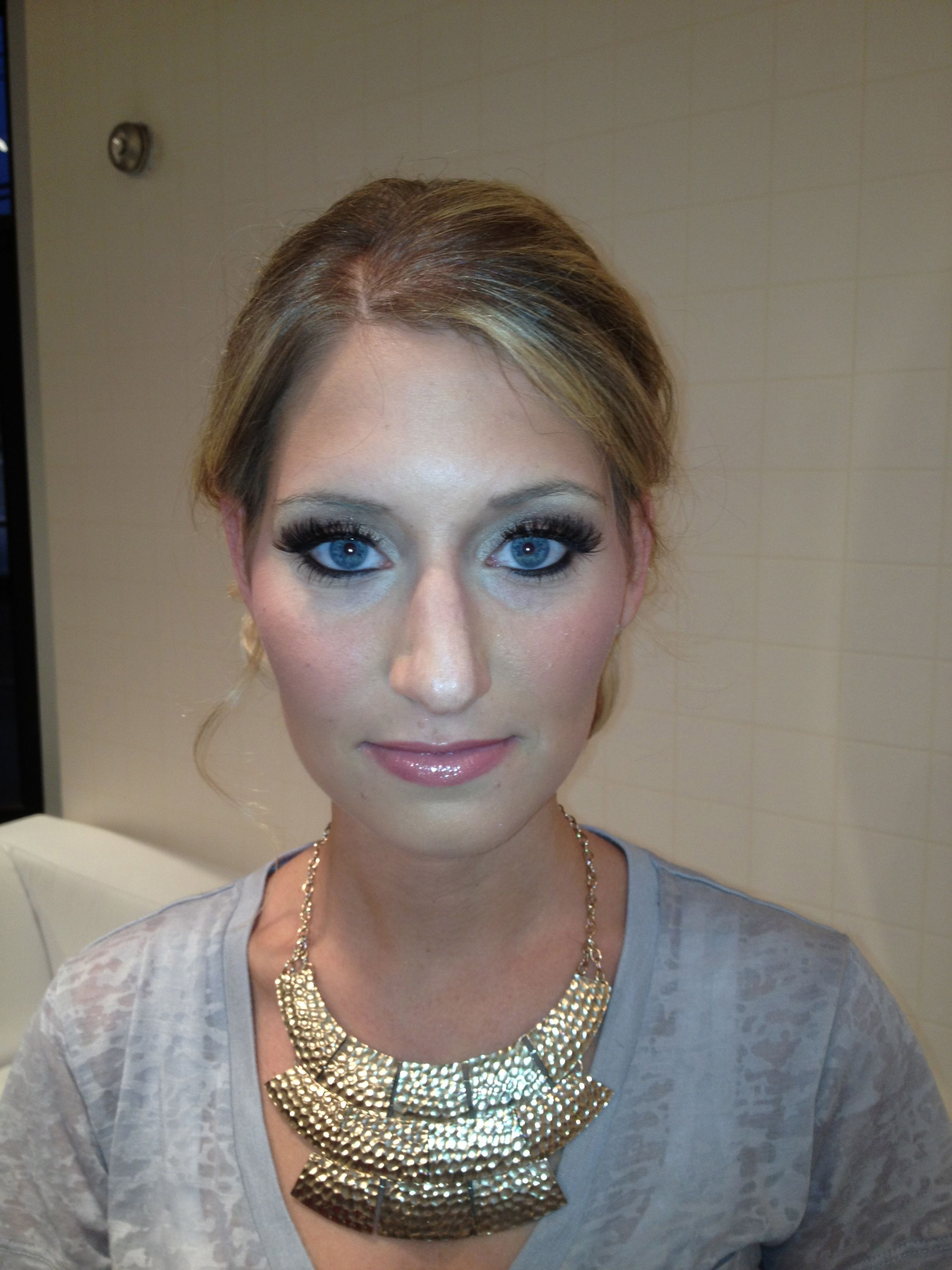 Make up items in the glominerals category - silver brown smokey ...