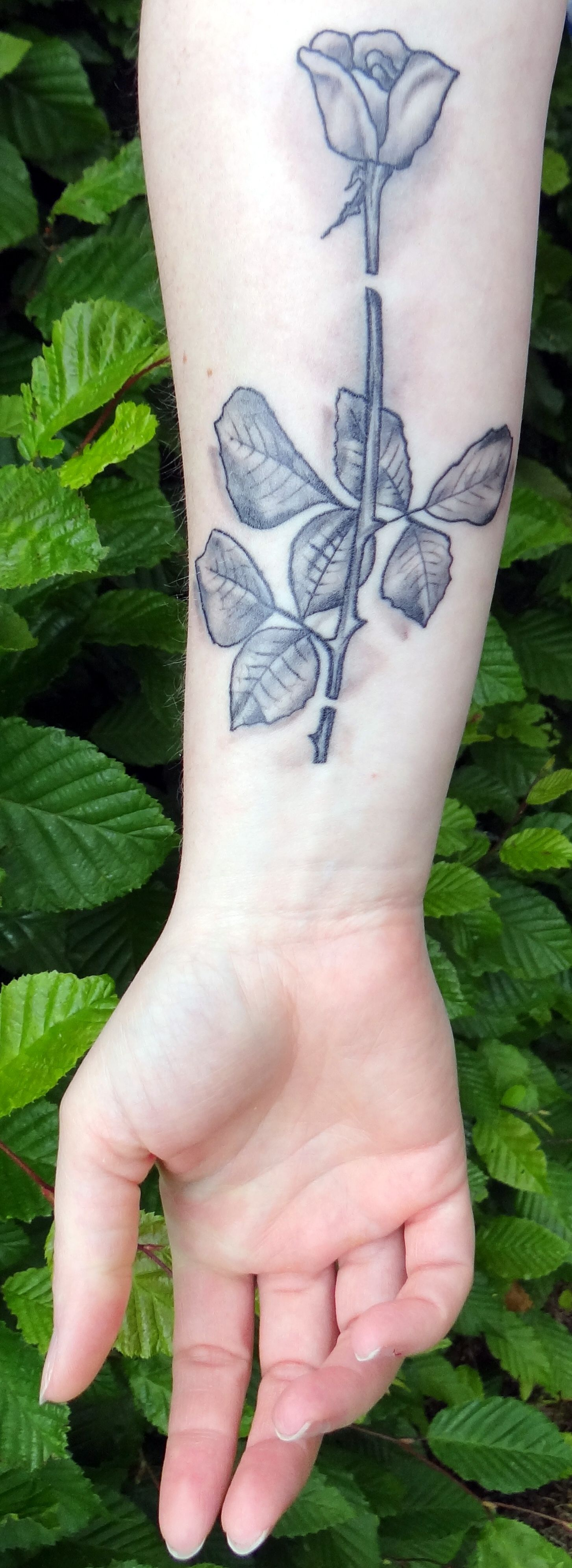 depeche mode violator tattoo - photo #8