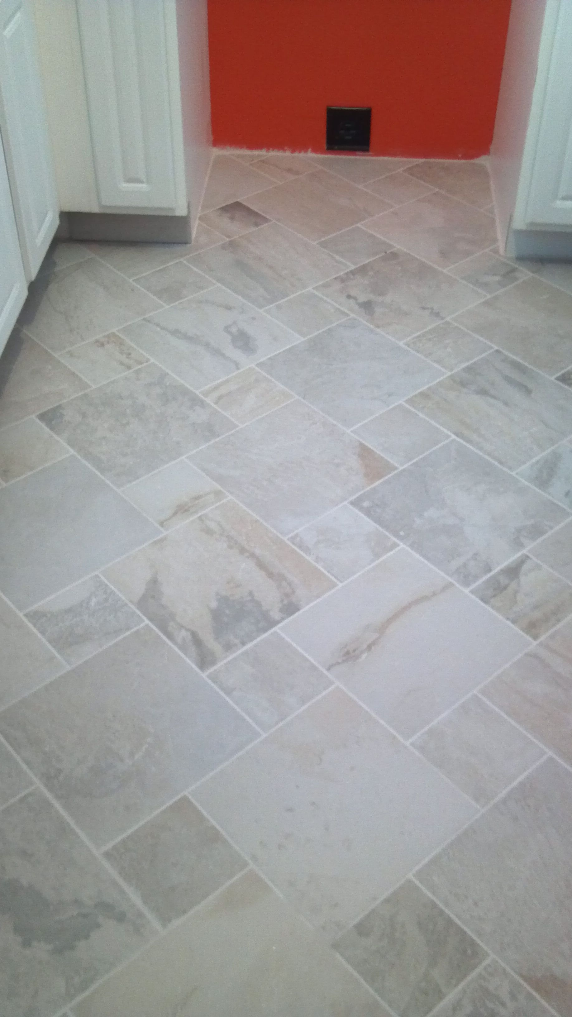 Kitchen Tile Has Been Grouted For The Home Pinterest
