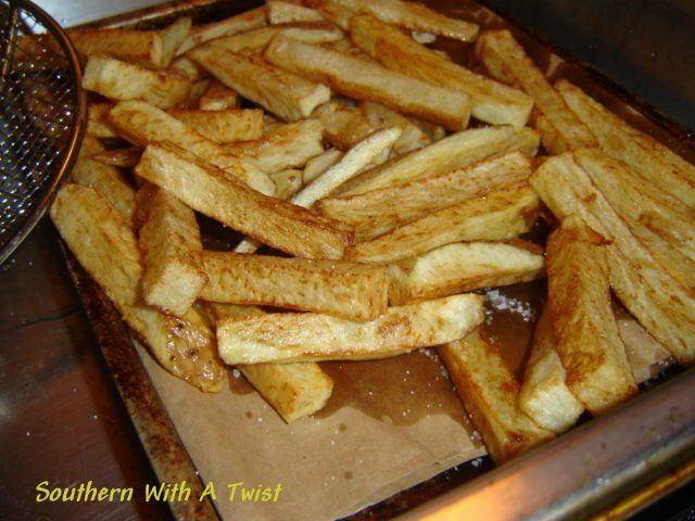 Homemade French Fries | Side Dishes | Pinterest