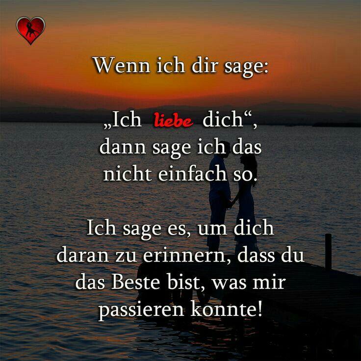 Ich liebe dich...❤❗ | sprüche | Любовь, Цитаты о сердце и Цитаты