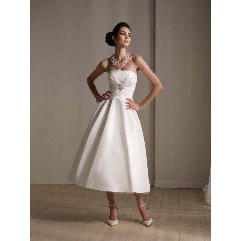 Retro Vow Renewal Dress