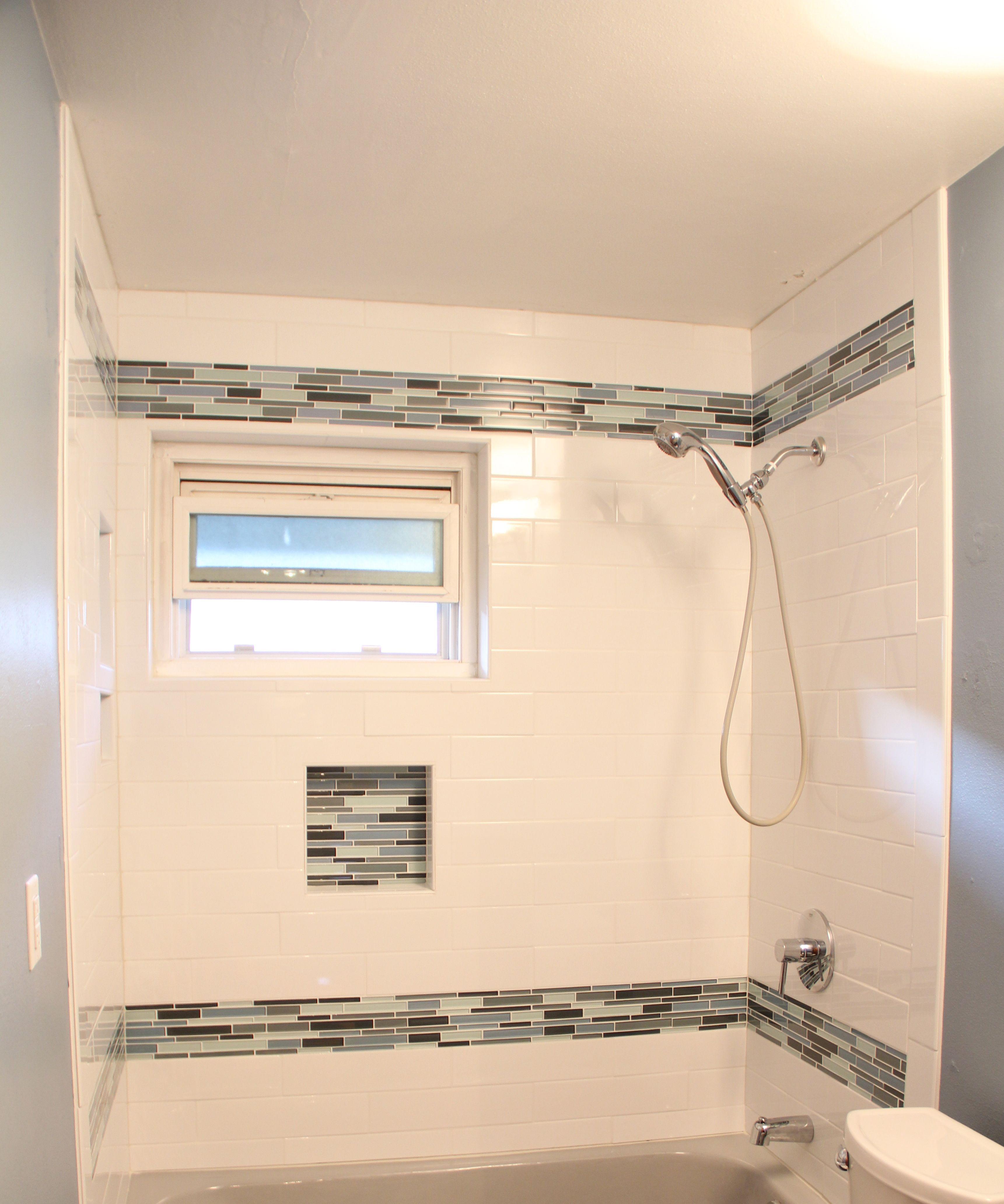 Shower Surround Tile Bathroom Ideas Pinterest