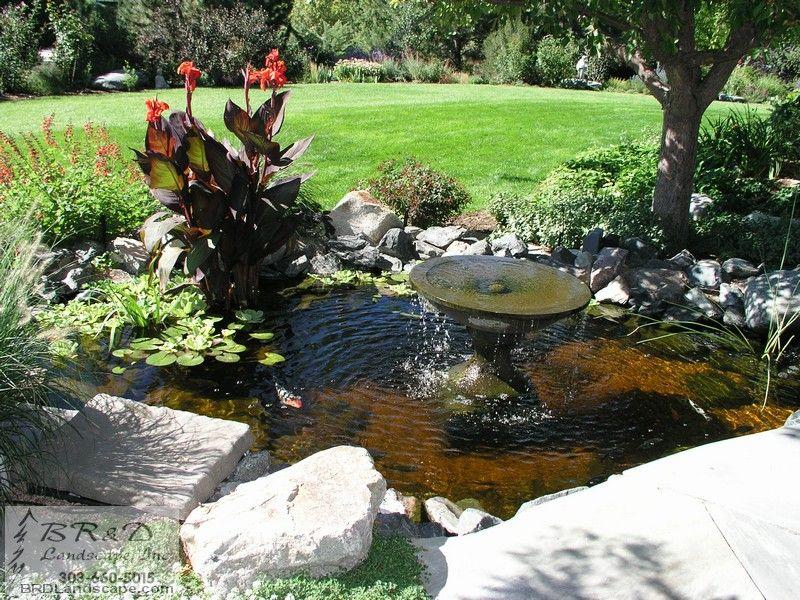 Outdoor Water Fountain Garden Pond