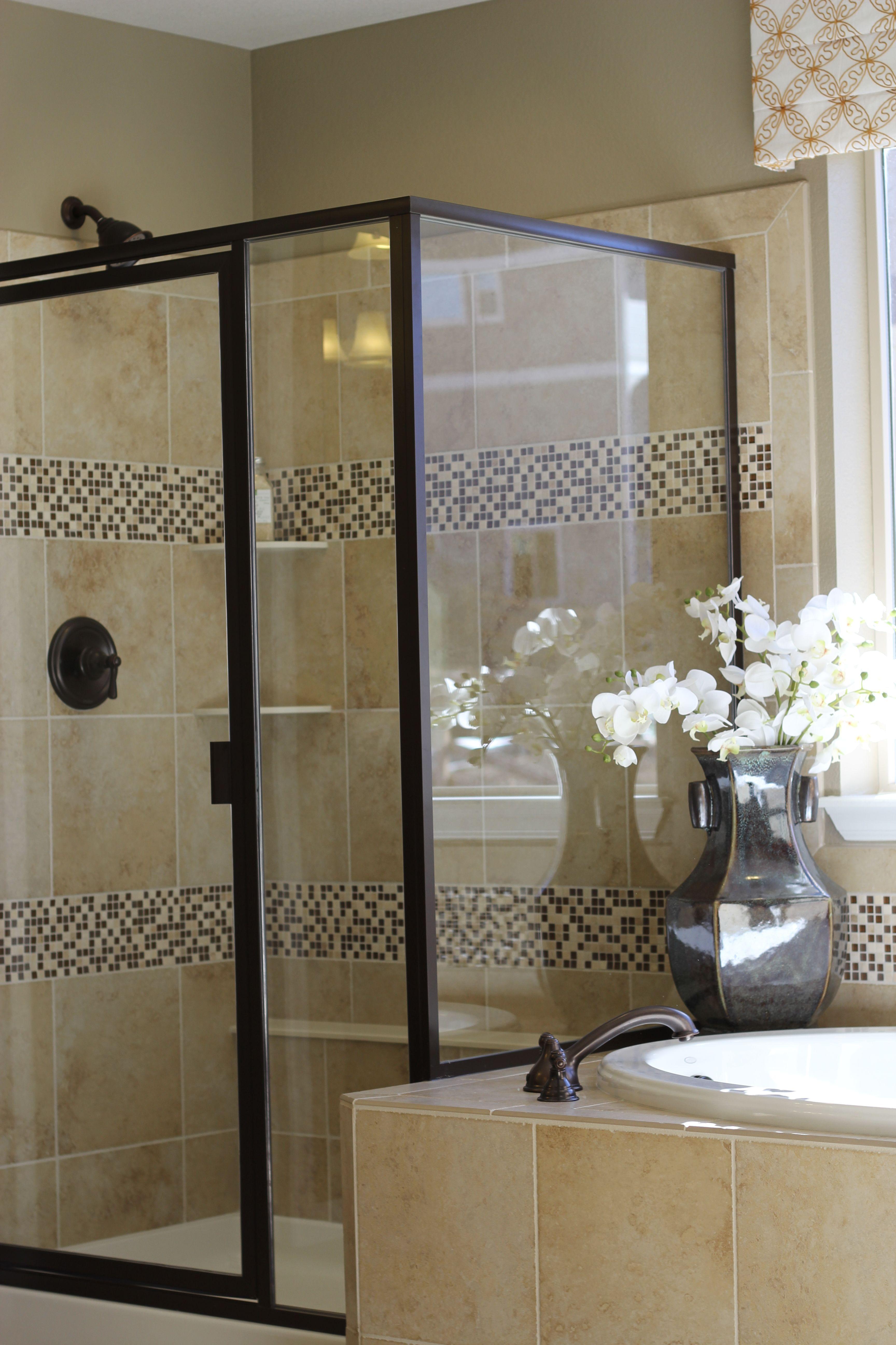 Nice shower tile neutral bathroom cozy bathroom ideas for Neutral bathroom tile designs