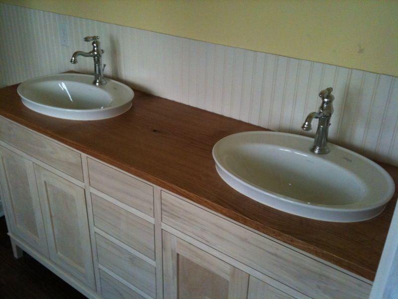 Semi Recessed Vessel Sink : Vessel Sink semi Recessed Bathroom remodel Pinterest