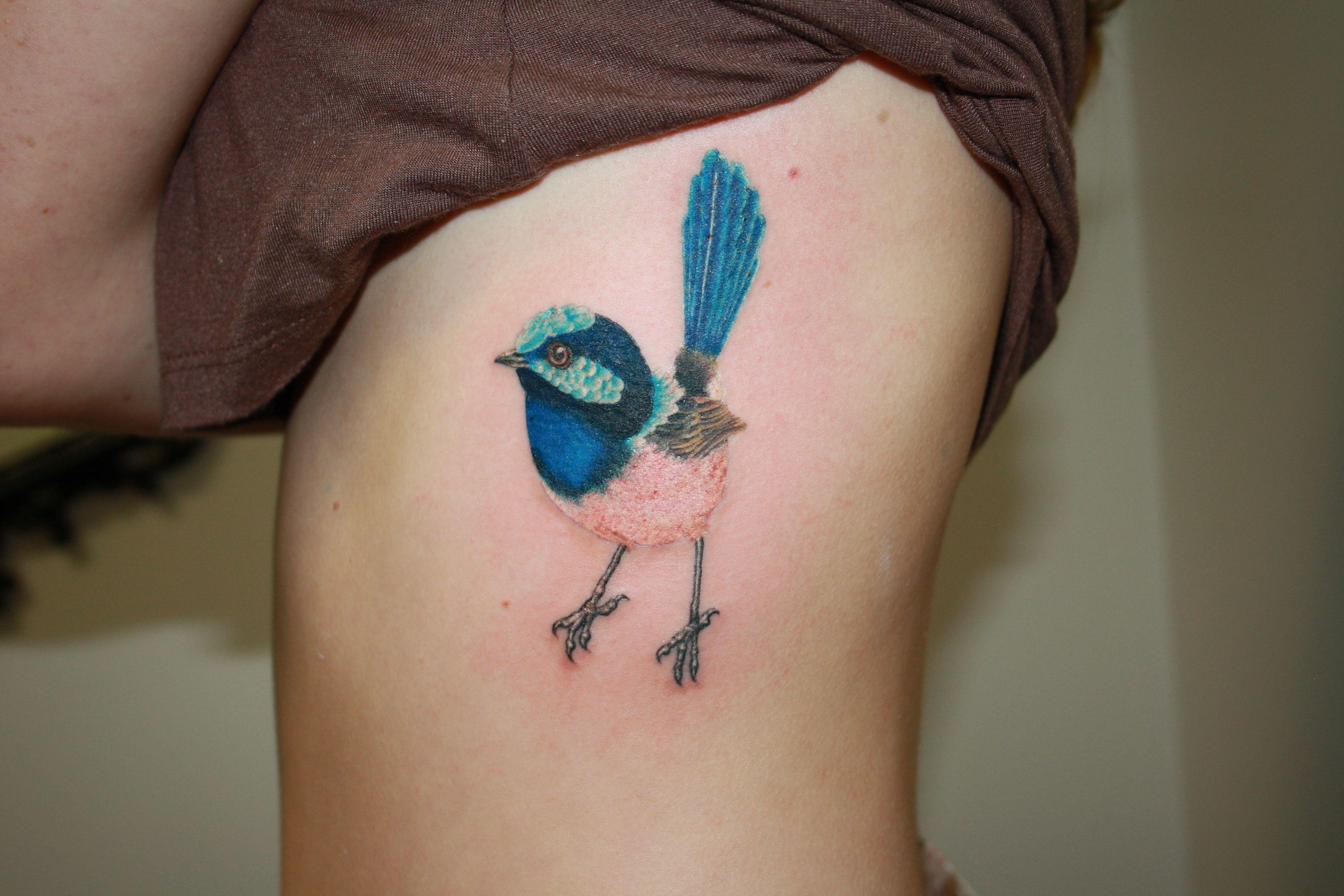 Blue birds tattoo - photo#4