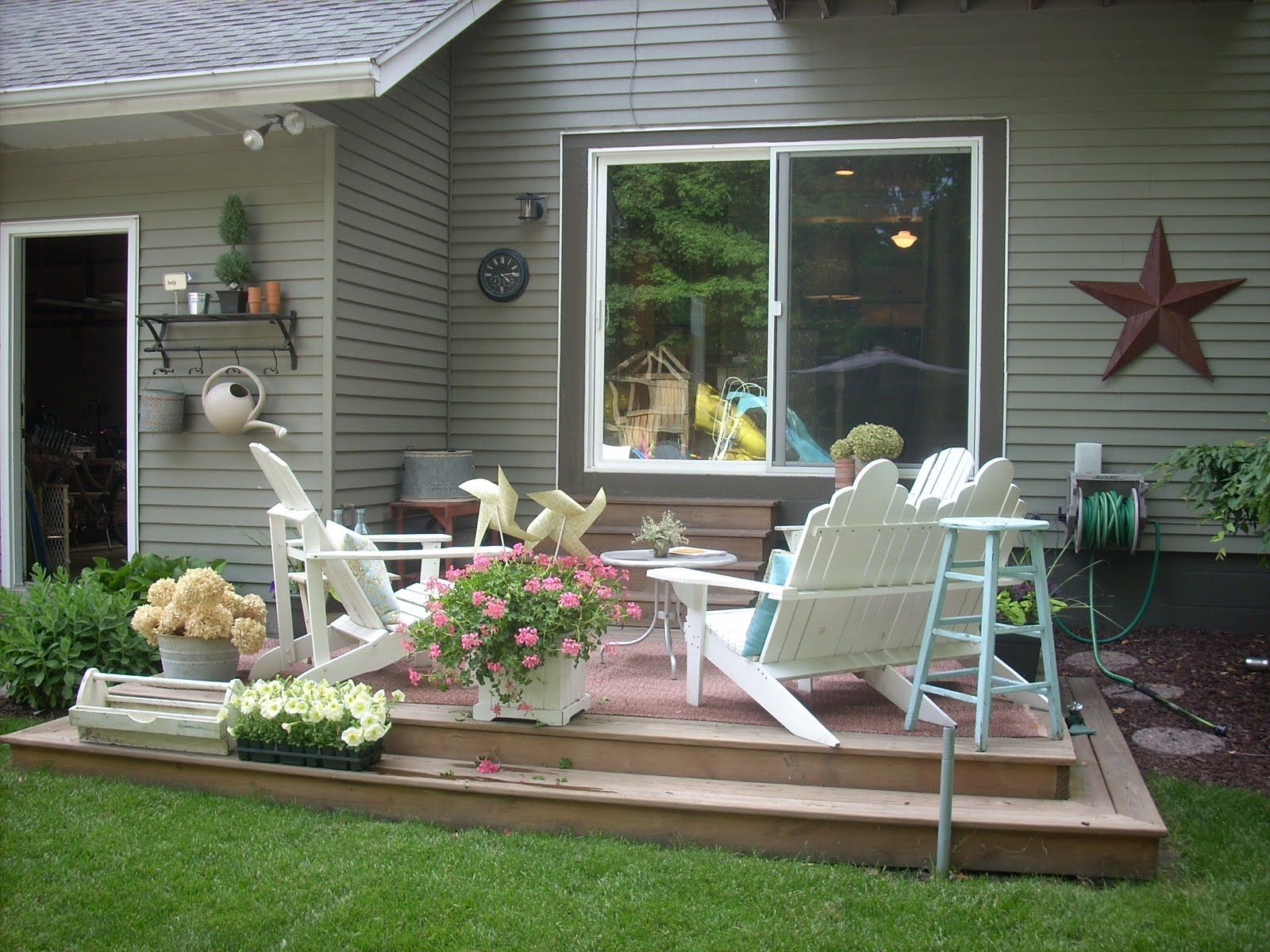 uncovered deck make over home sweet home pinterest