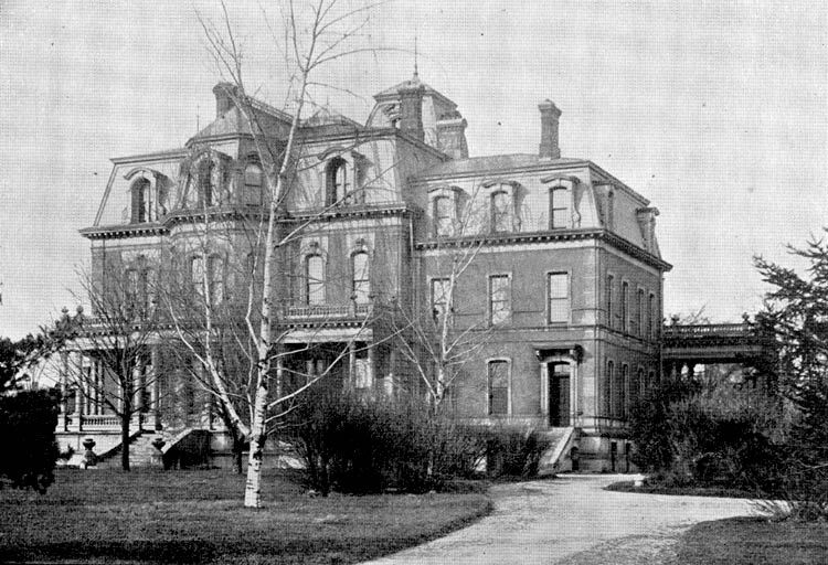 Fargo mansion in 1900 now demolished mansions for Abandoned mansions in new york for sale