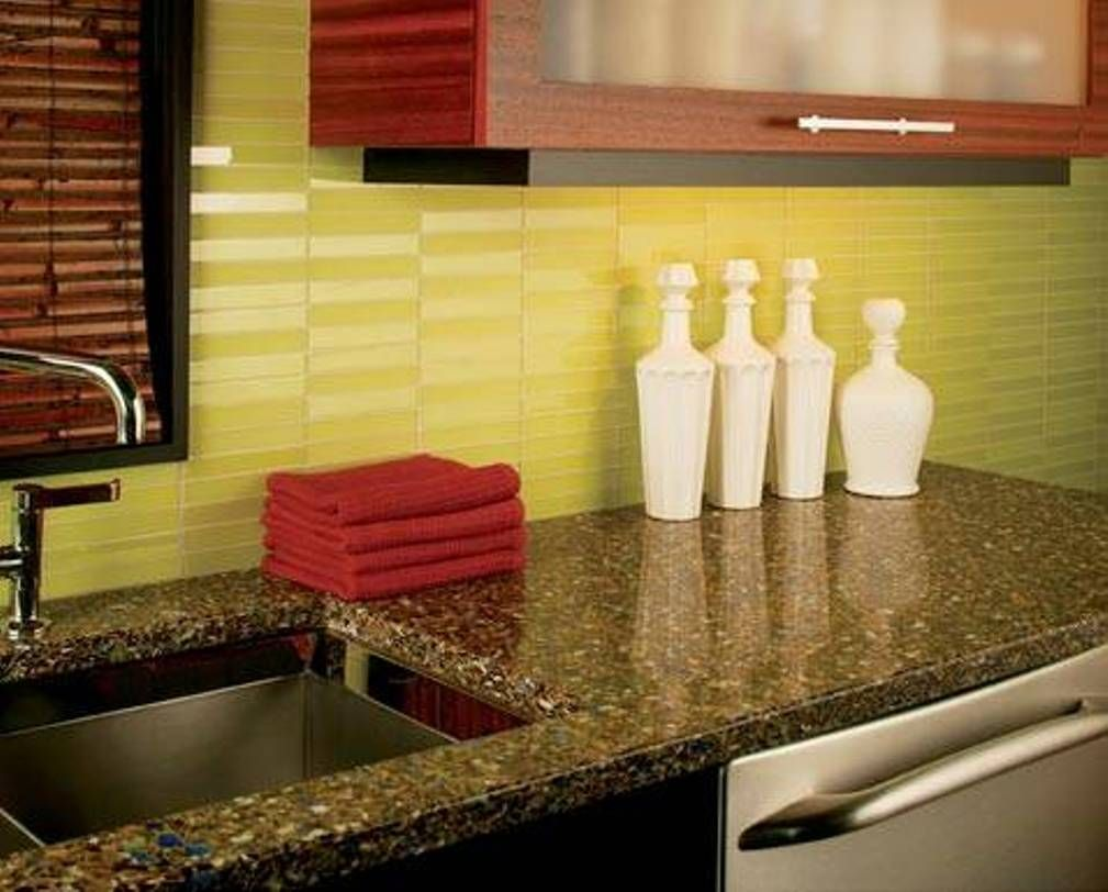 Glazed subway tiles