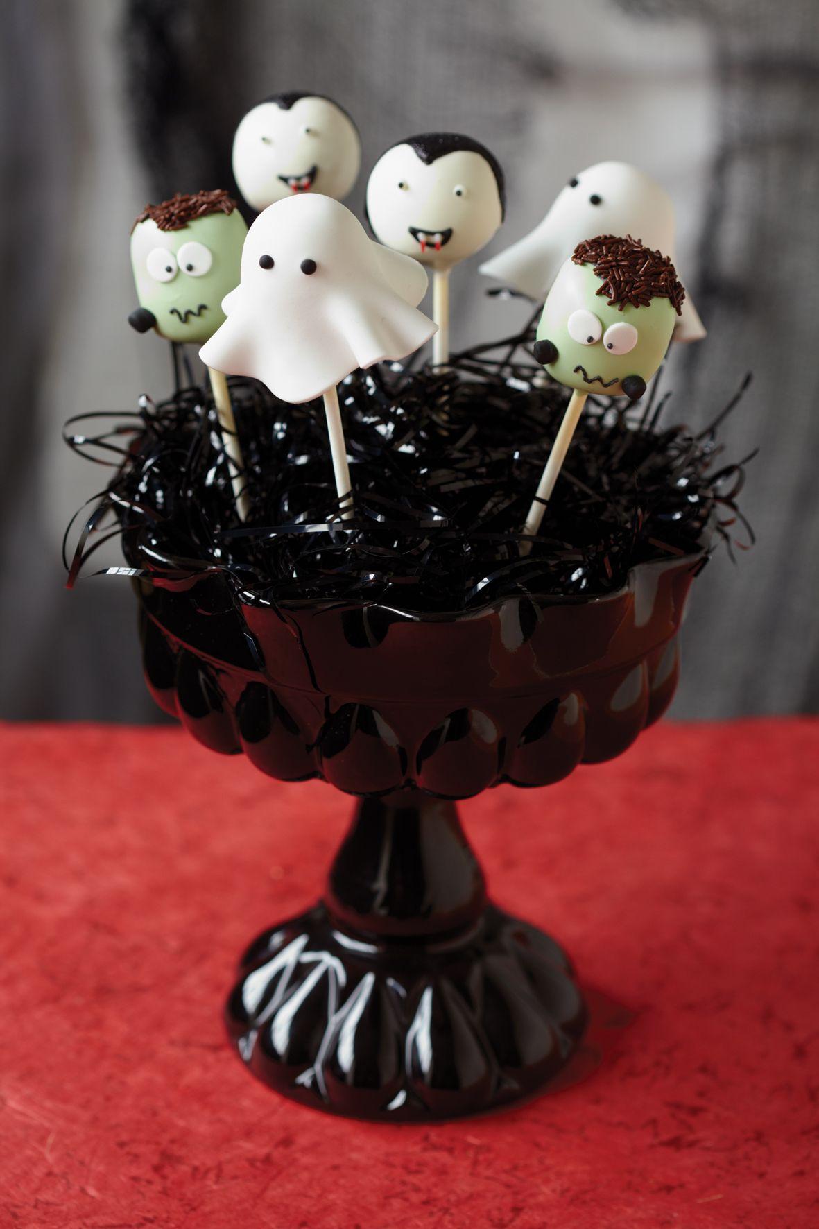 Halloween cake pops | Halloween goodies | Pinterest