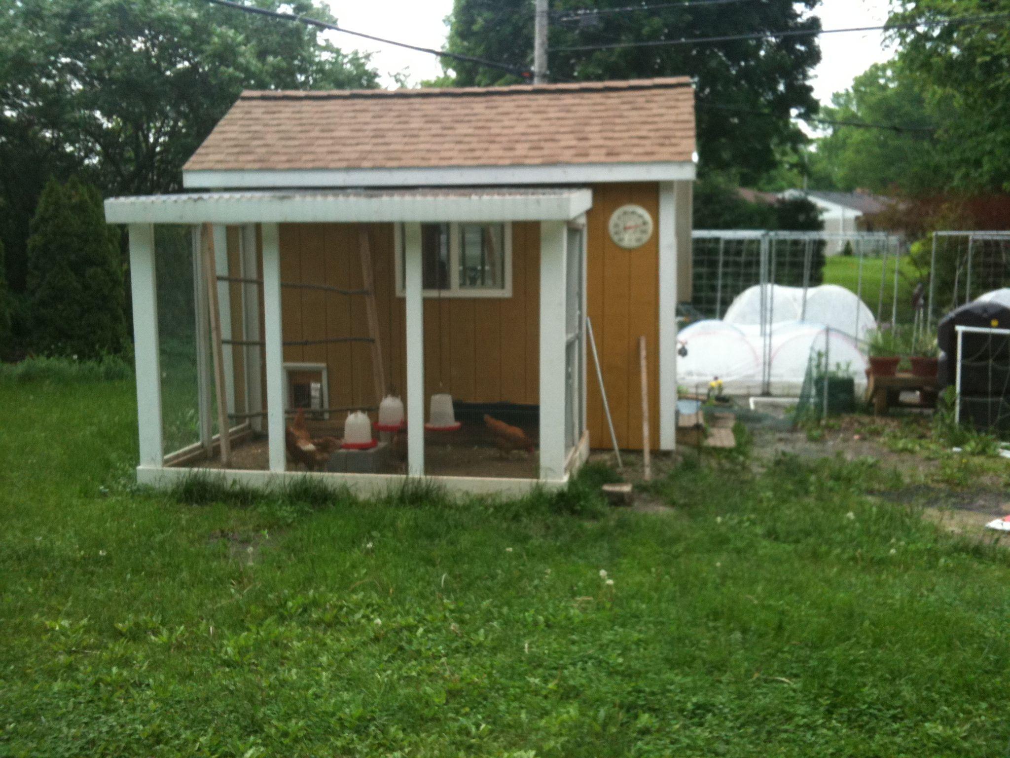 Chicken Coop Garden Shed Saddle Creek Farms Pinterest