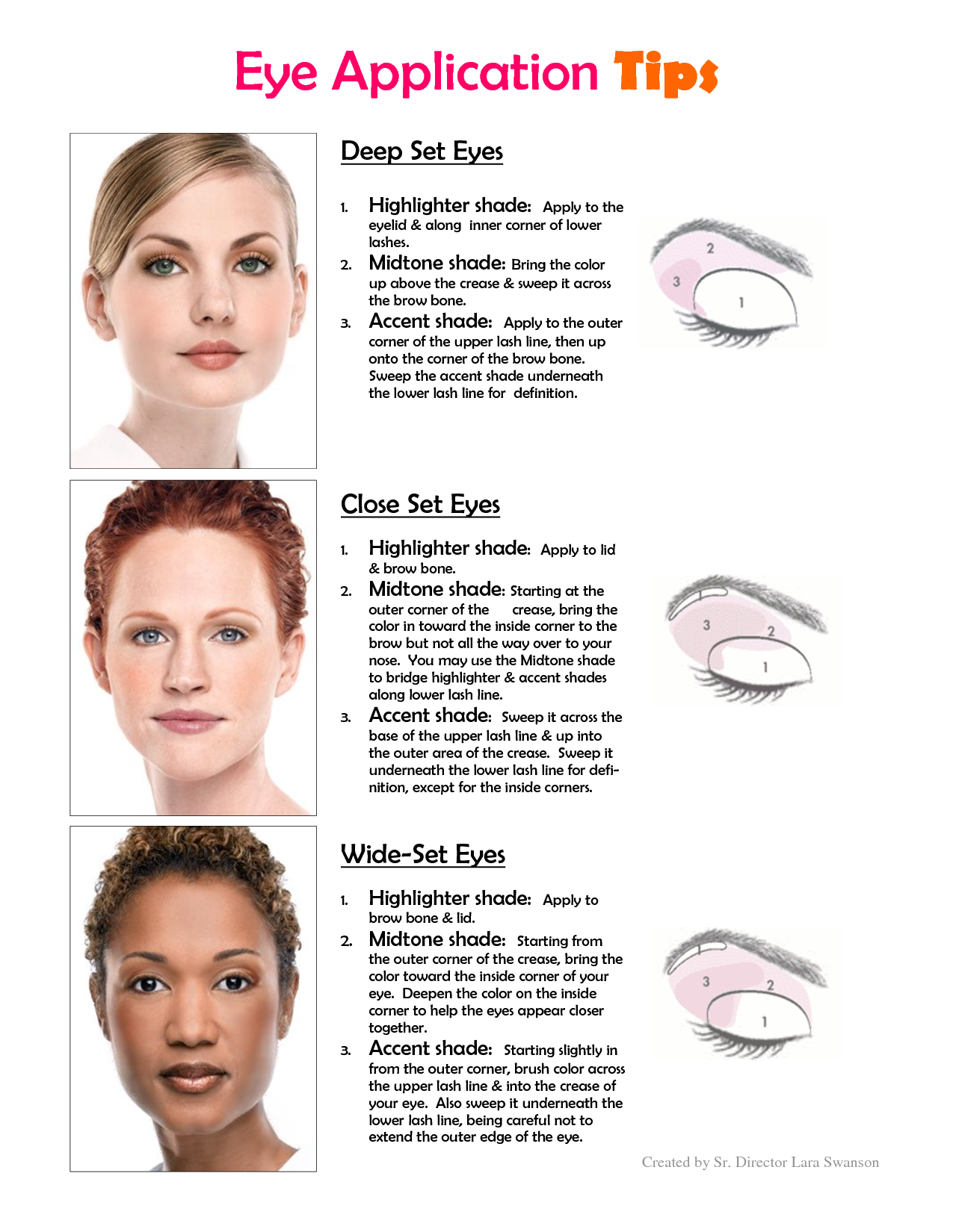 How To Apply Makeup To Deep Set Eyes Cosmeticstutor