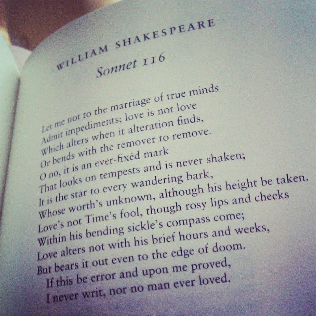 shakespeare sonnet 116 essay Shakespeare sonnets 18 and 130 essay a custom essay sample on shakespeare sonnets 18 and 130 contrasting sonnets 18 and 116 by william shakespeare.