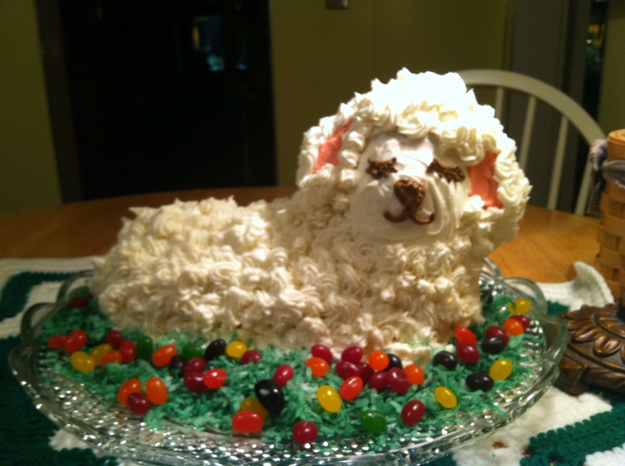 EASTER LAMB CAKE | Food | Pinterest