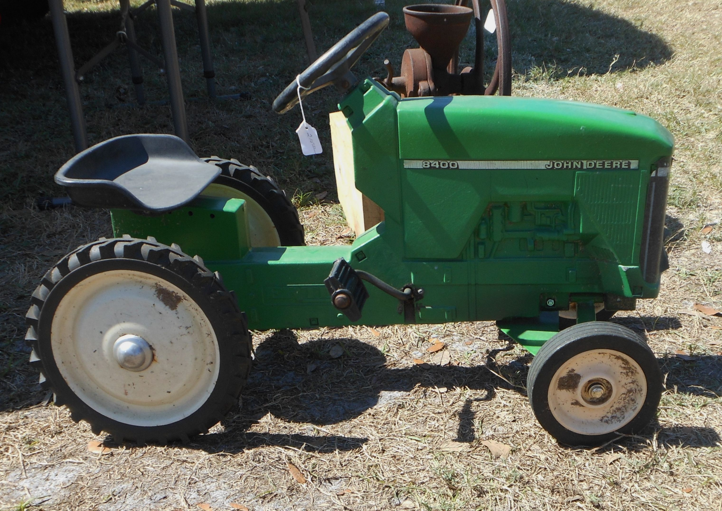 Are vintage pedal tractors interesting