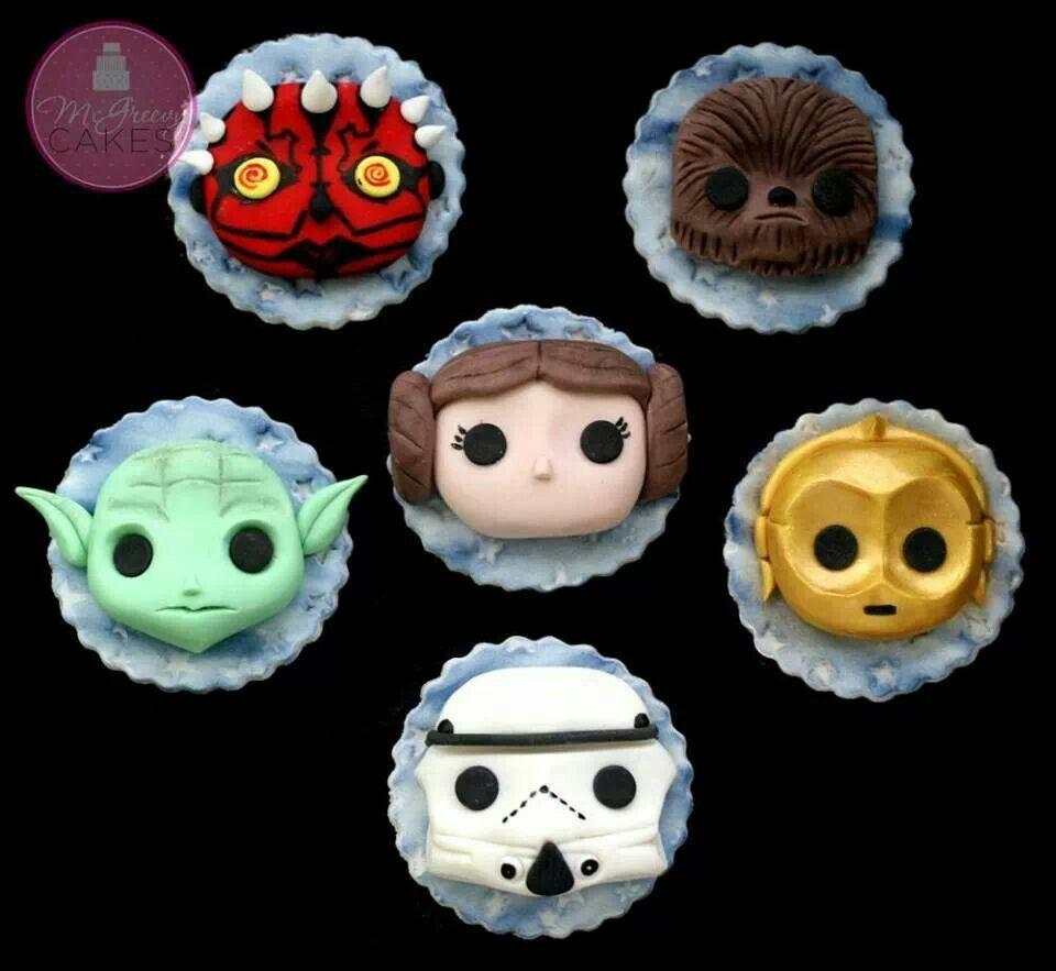 Star Wars Cupcake Cake Ideas